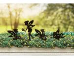 Fairies, set of 4 silhouettes, with stak